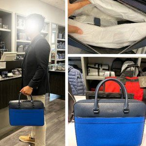 🆕️ Michael Kors Harrison Leather Briefcase
